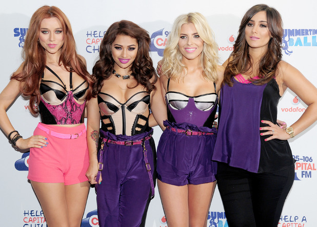 The Saturdays at the Capital FM Summertime Ball.