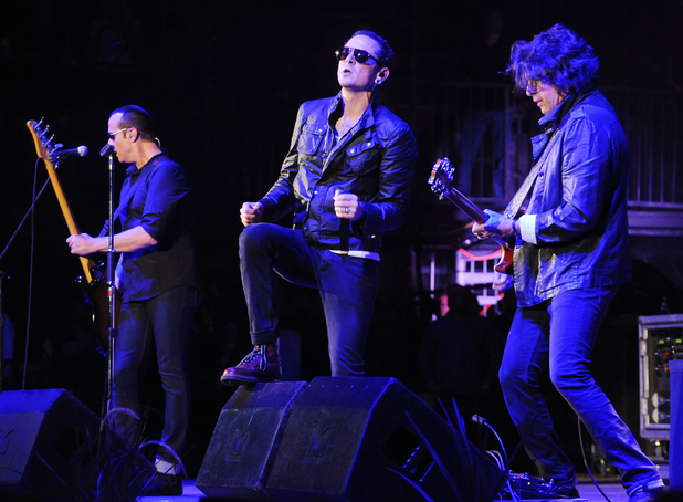 Stone Temple Pilots perform at the 2013 KROQ Weenie Roast in Los Angeles