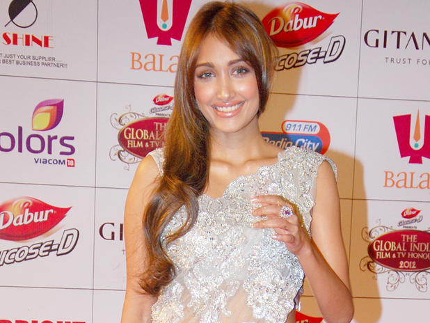 Jiah Khan at the 2013 Stardust Awards