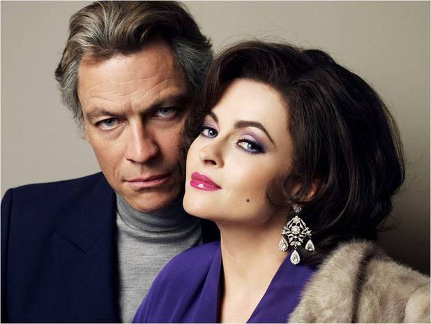 First look at Helena Bonham Carter and Dominic West as Elizabeth Taylor and Richard Burton in the BBC's 'Burton and Taylor'