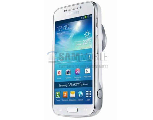 Samsung Galaxy S4 Zoom leaked image