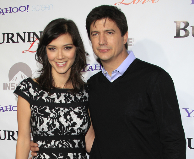 Erica Oyama and Ken Marino, 'Burning Love' season 2 premiere ~~ May 2, 2013
