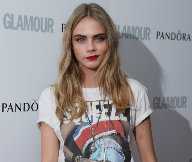 Cara Delevingne at the 2013 Glamour Women of the Year Awards