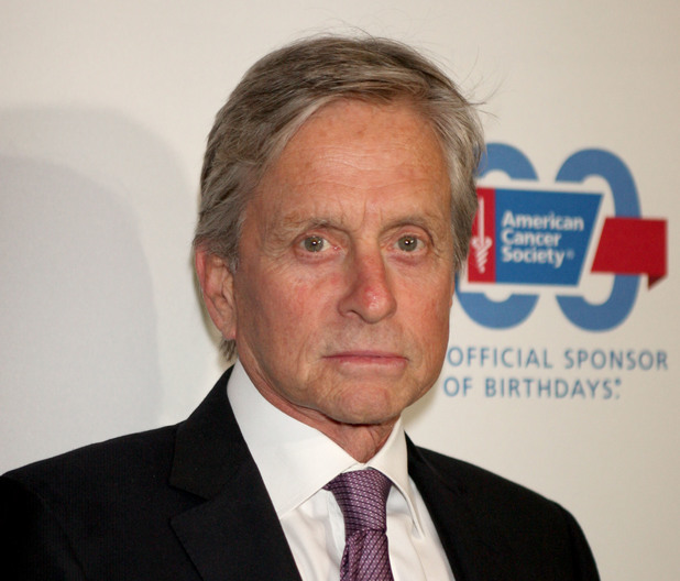 Michael Douglas, American Cancer Society's Centennial celebration, New York