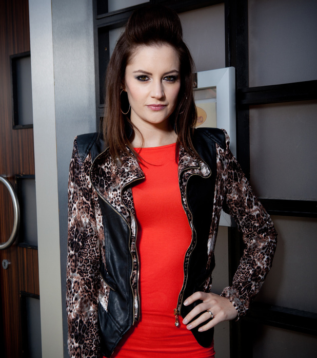 Paula Lane as Kylie Platt in Coronation Street