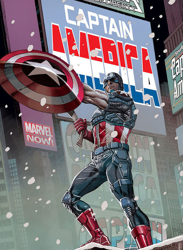 'Captain America' #11 artwork
