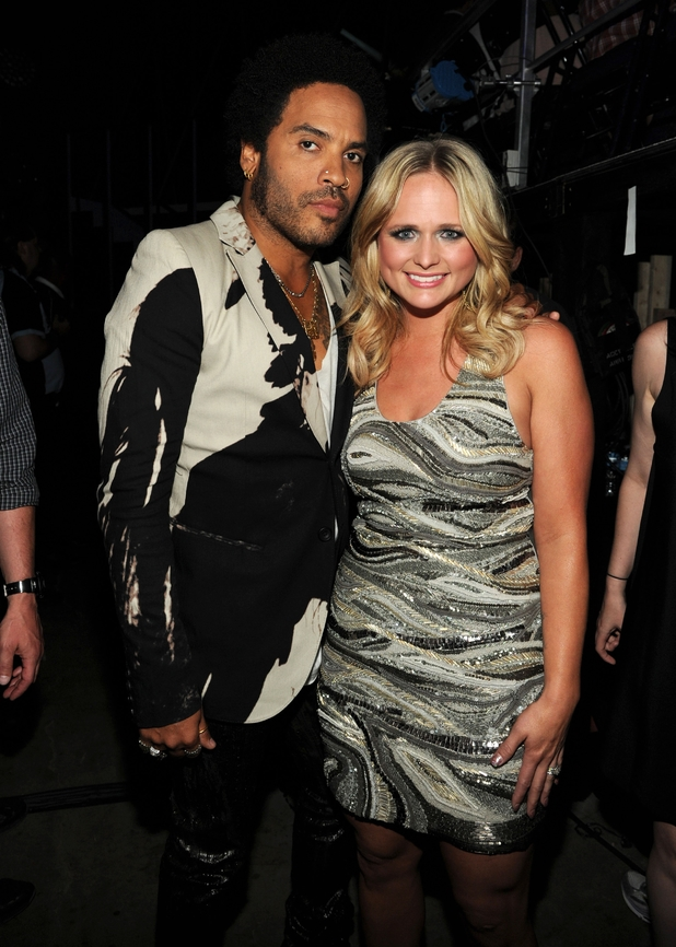 Lenny Kravitz and Miranda Lambert