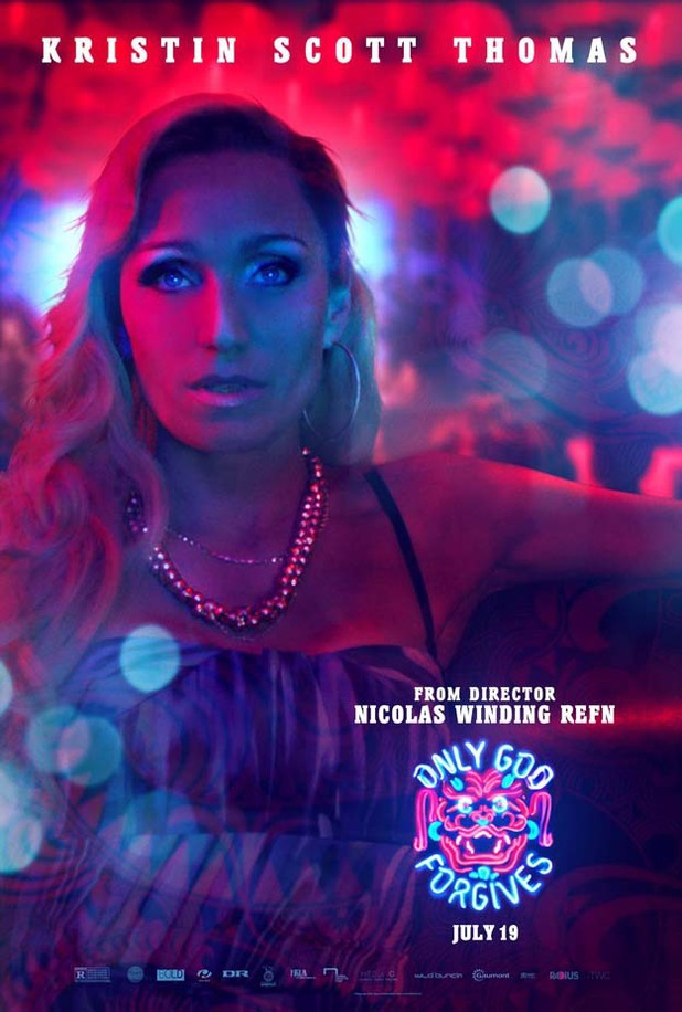 Kristin Scott Thomas in 'Only God Forgives' poster