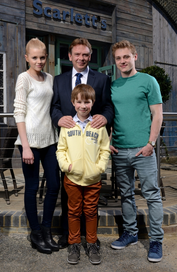 The Beale family in EastEnders