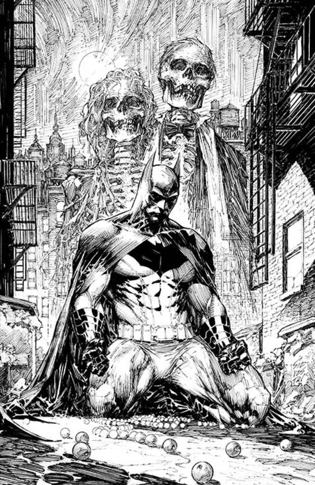 'Batman: Black and White' #1 artwork