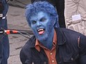 On-set pictures leak of the actor in his redesigned Beast make-up.