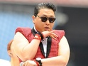 "'Gangnam Style' star says the only time he doesn't drink is ""when [he's] hungover""."