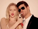 Robin Thicke becomes the first male solo artist since 2004 to receive title.