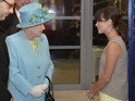 Actress presented to Her Majesty at opening of BBC Broadcasting House extension.