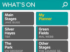 Glastonbury Festival 2013 app updated with stage times and planner