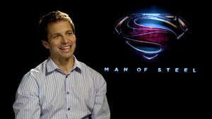 Zack Snyder 'Man of Steel' interview: The Flash beats Superman in a foot race