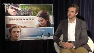 Dan Stevens on 'Summer In February' and 'The Fifth Estate'