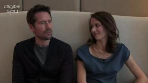 Amy Acker and Alexis Denisof on brunches and Shakespeare