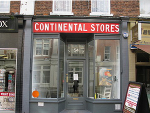 Continental Stores in Bloomsbury