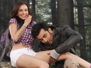 Evelyn Sharma, Ranbir Kapoor in 'Yeh Jawaani Hai Deewani'