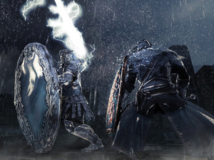 Dark Souls 2 will be available for PS3 and Xbox 360 in 2014.