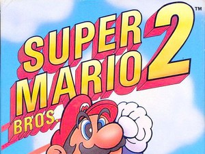 Super Mario Bros 2 cover art