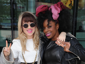 Leah McFall, Cleo Higgins, Celebrities leave BBC Media City UK