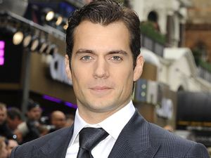 Henry Cavill arriving at the 'Man Of Steel' UK Premiere in London