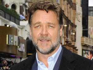 Russell Crowe arriving at the 'Man Of Steel' UK Premiere in London