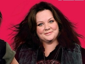 Melissa McCarthy, Shiznit version of 'The Heat' poster before photoshopping