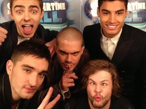The Wanted on the Summertime Ball red carpet