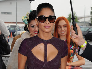 Nicole Scherzinger, Herve Leger dress, bodycon, X Factor auditions, Manchester