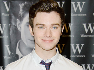 Chris Colfer signs copies of his books 'The Land of Stories: The Wishing Spell and Struck by Lightning' at Waterstones in Bluewater Shopping Centre.