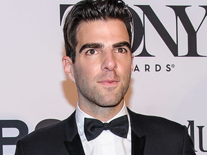 Zachary Quinto arriving at the 67th Annual Tony Awards in New York