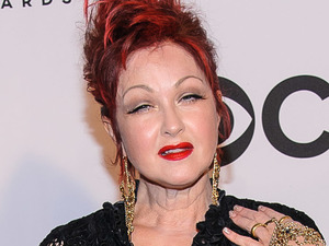 Cyndi Lauper arriving at the 67th Annual Tony Awards in New York