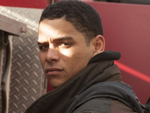 Charlie Barnett as Peter Mills in 'Chicago Fire'