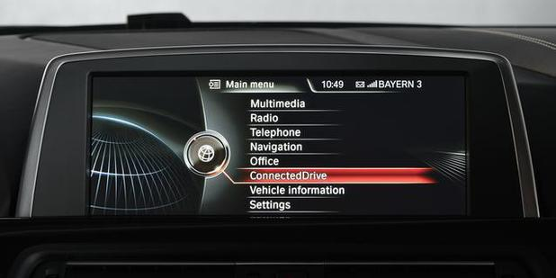 BMW's ConnectedDrive system