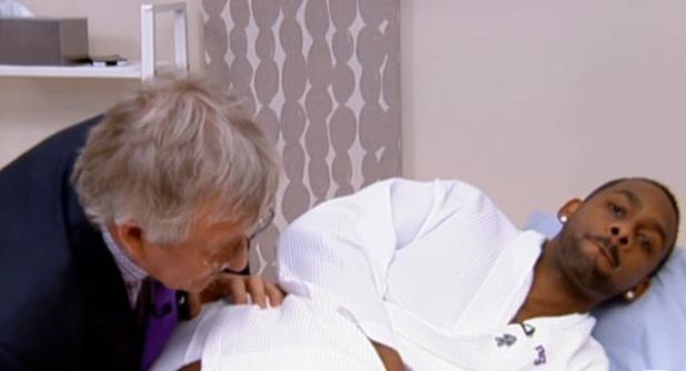Richard Blackwood has prostate cancer exam live on 'This Morning'