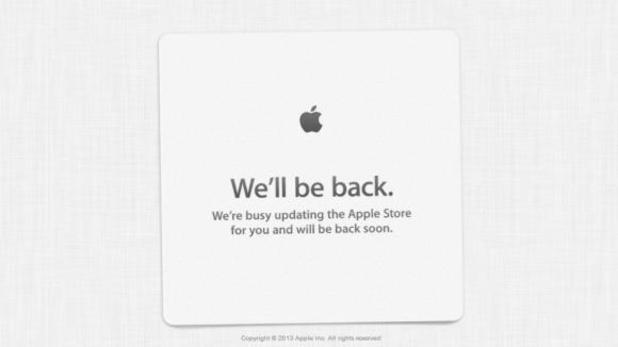 Apple takes its store down ahead of WWDC 2013