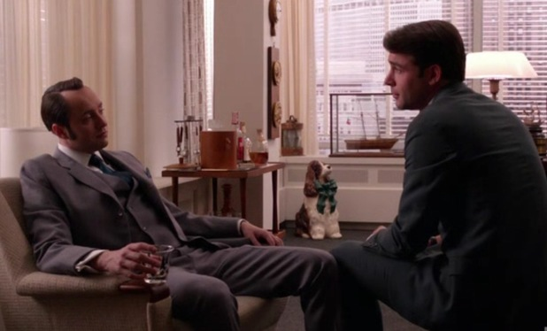 Pete Campbell and Bob Benson in 'Mad Men'
