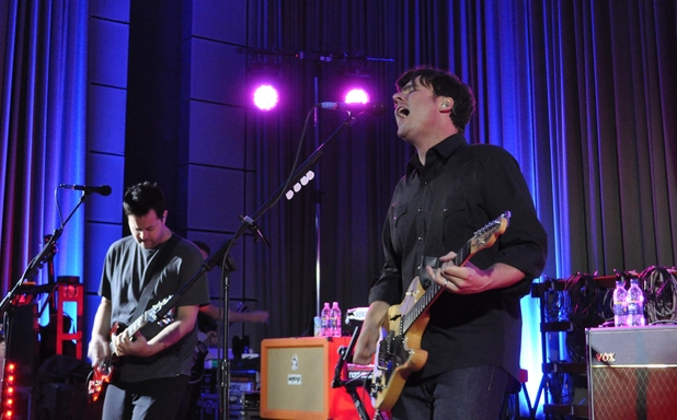 Jimmy Eat World at Radio 1 Rocks, BBC Maida Vale Studios ~~ June 10, 2013