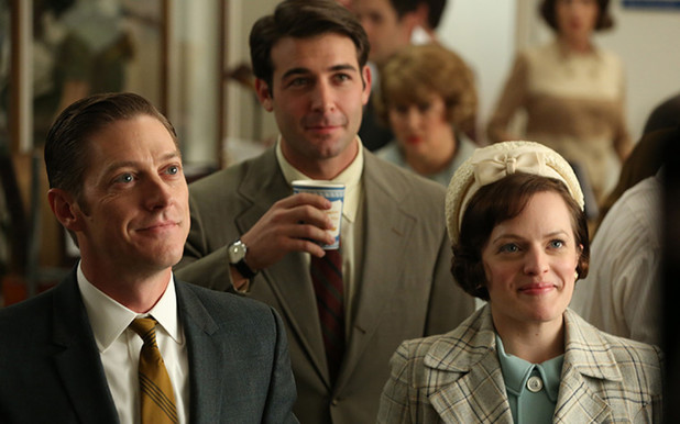 Ted Chaough, Bob Benson and Peggy Olson in 'Mad Men'