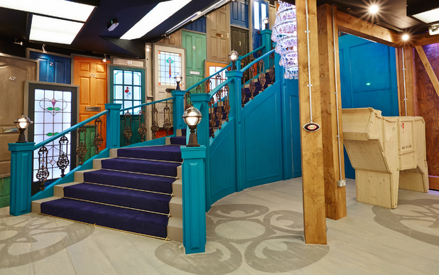 The 'Big Brother: Secrets & Lies' house: The entrance