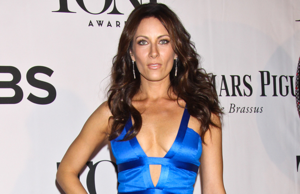 Laura Benanti arriving at the 67th Annual Tony Awards in New York