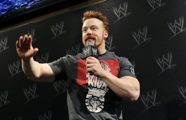 Stephen Farrelly aka Sheamus