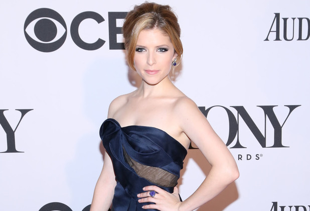 Anna Kendrick arriving at the 67th Annual Tony Awards in New York