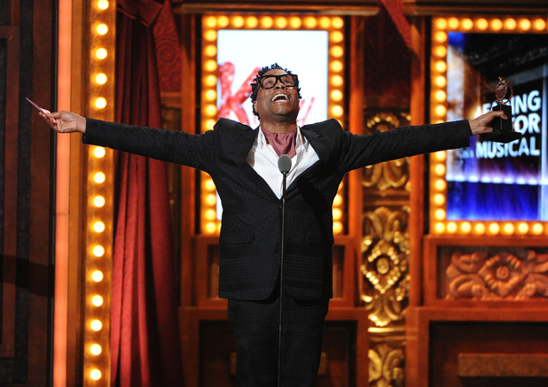 Billy Porter accepts his Tony Award for 'Kinky Boots' ~~ June 9, 2013