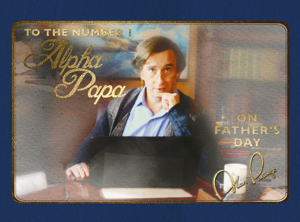 Alan Partridge 'Alpha Papa' Father's Day e-card