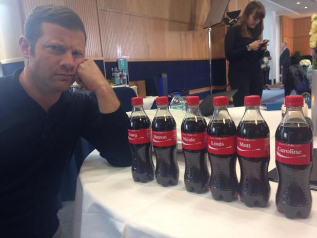 'X Factor' Dermot O'Leary 'sad' over forgotten Coke bottle
