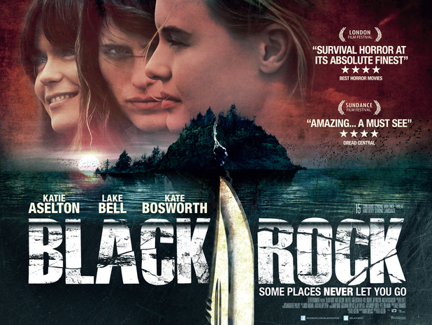 'Black Rock' UK poster